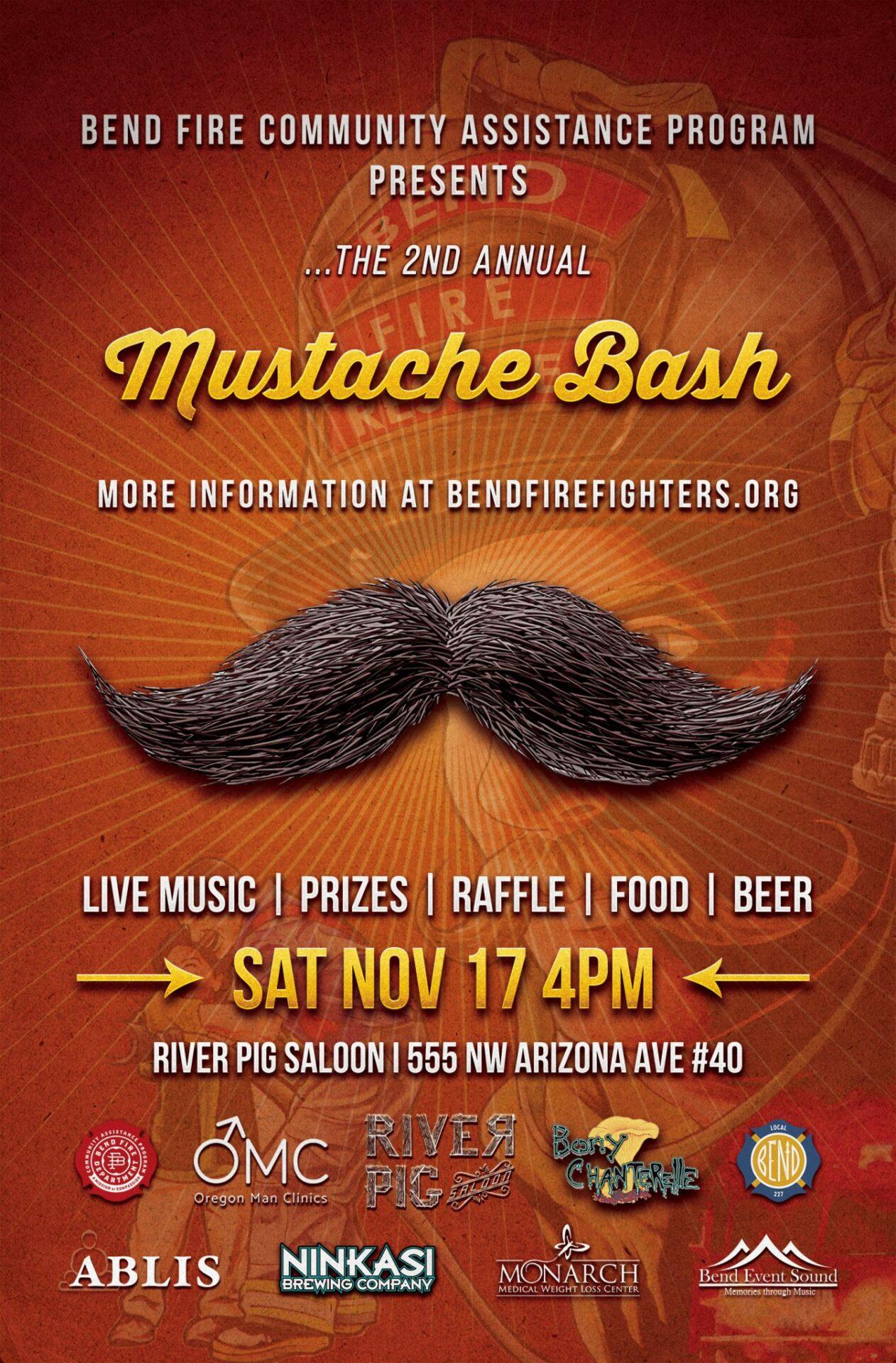 Mustache Bash Flyer
